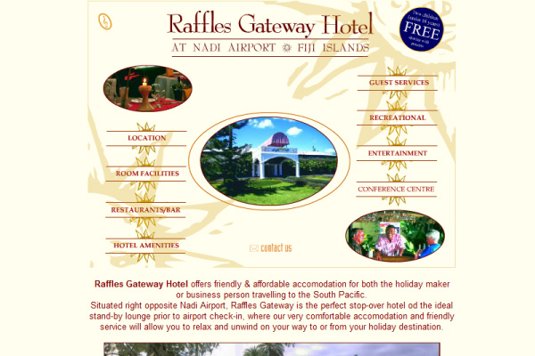 Raffles Gateway Hotel - Home flash