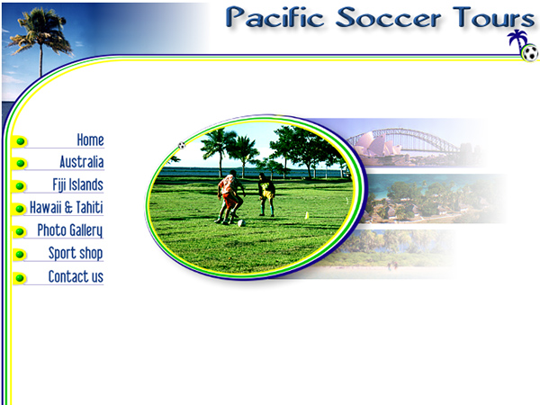 Pacific Socer Tours - Homepage