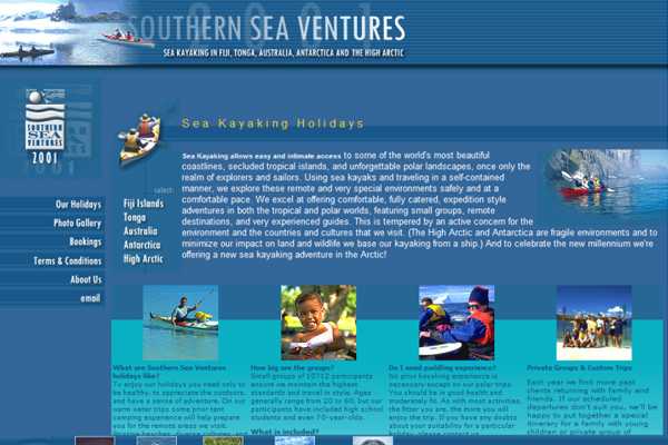 Southern Sea Ventures - Home