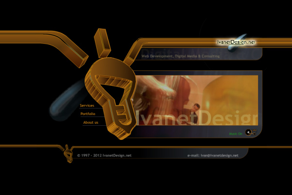 IvanetDesign.net - Homepage 2002
