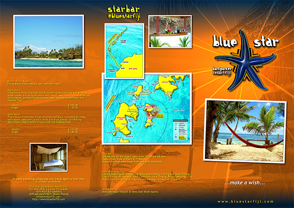 Blue Star Resort - Brochure pag 2