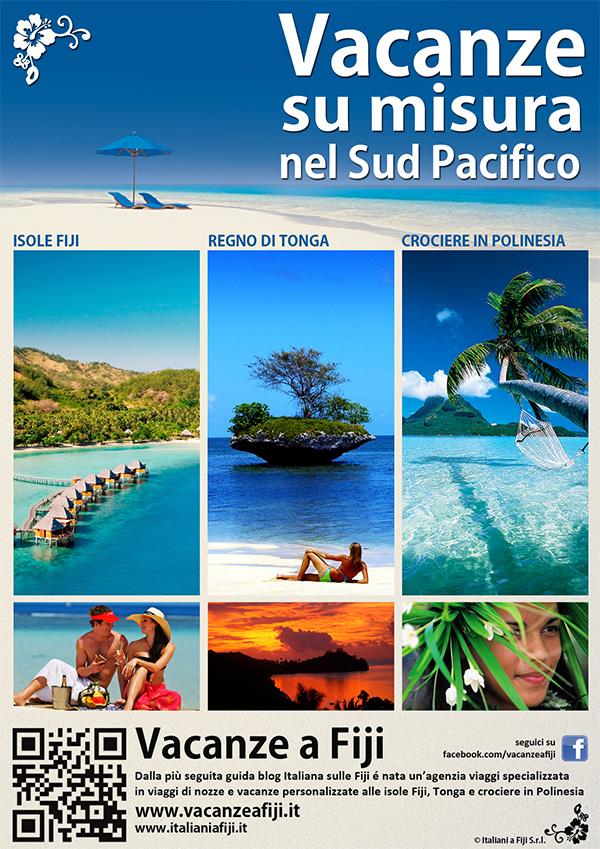 Ivanet Design Portfolio : Vacanze a Fiji - Depliants