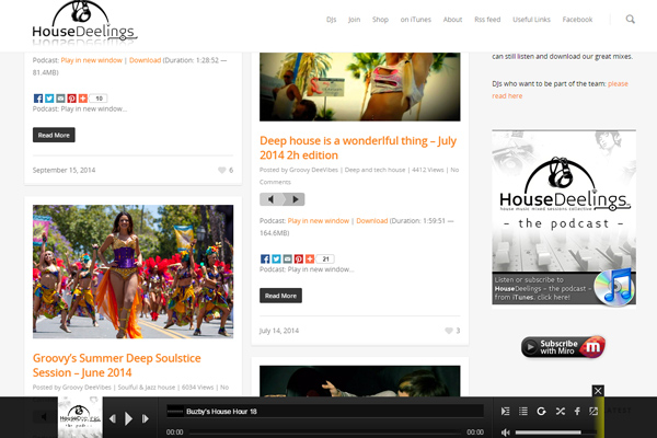 HouseDeelings Homepage